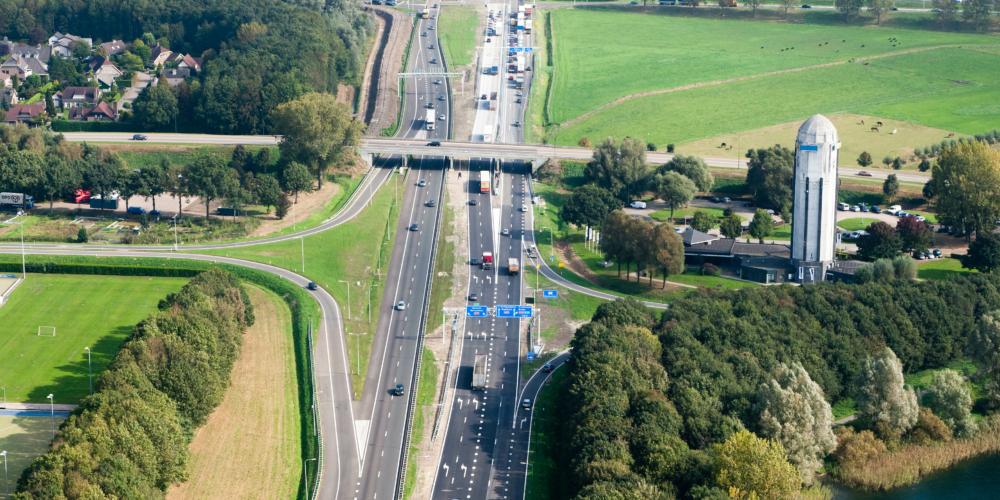 A27 – A59 Knooppunt Hooipolderfoto: Joop van Houdt / Rijkswaterstaat