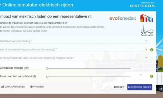 Online Simulator Elektrisch Rijden