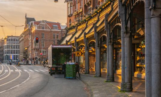 Stadslogistiek Amsterdam