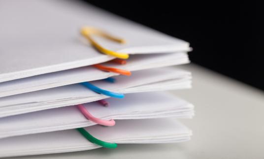 cao – dossiers – papier