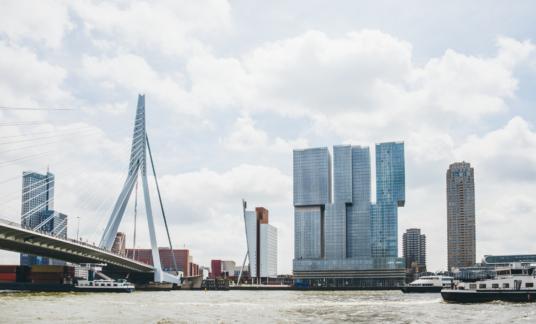 Rotterdam, The Netherlands. – Erasmusbrug –