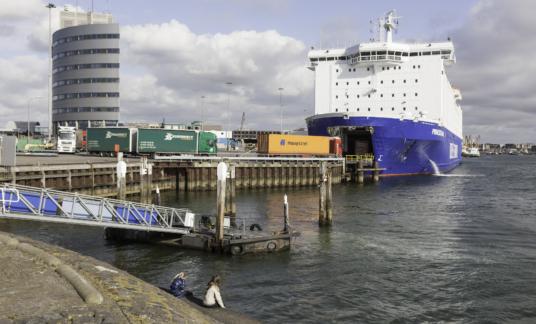 Ferry IJmuiden Brexit