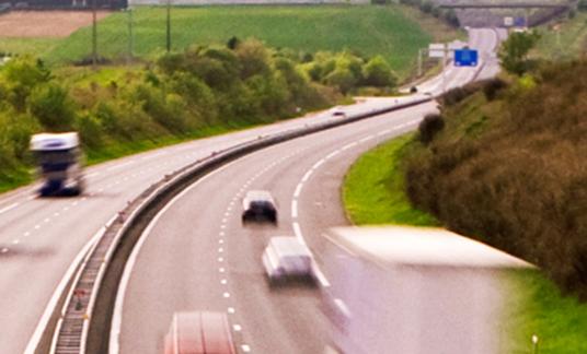 Frankrijk snelweg