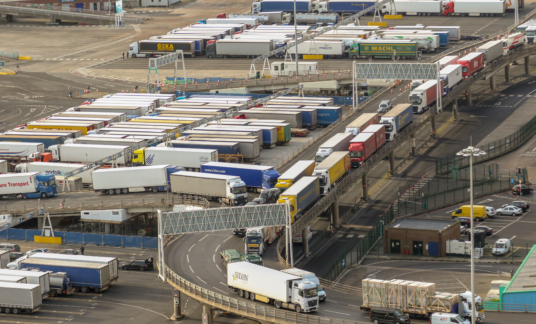 The Port of Dover in Kent United Kingdom – Engeland