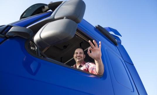 Chauffeur blij –