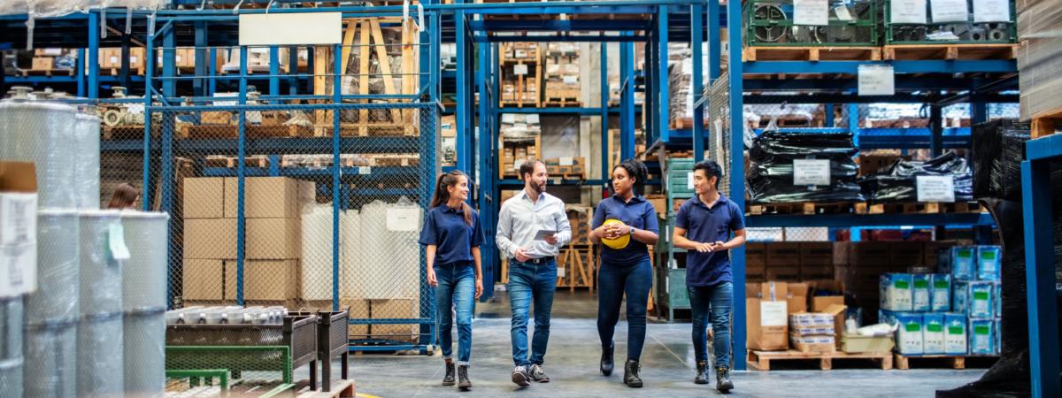 gesprek warehouse