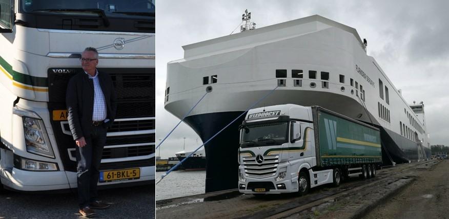 Paul Smit – Truck Windhorst bij ferry