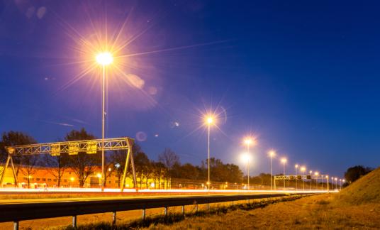 avond snelweg nederland