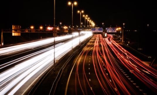 Highway intersection A15/A16 intersection Ridderkerk, Rotterdam