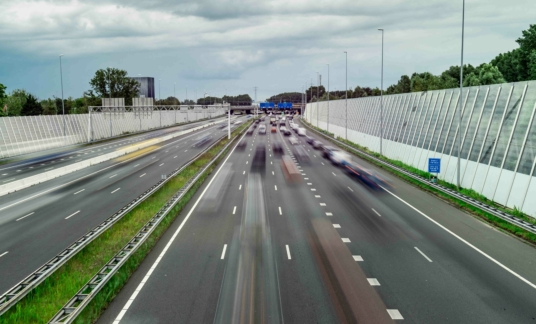 Highway ring east A10 Amsterdam