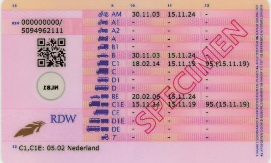 Rijbewijs 2014 achterzijde_rdw