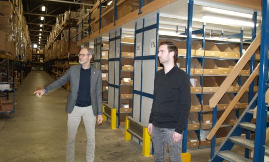 Henk van de Scheur en Brian Meijdam
