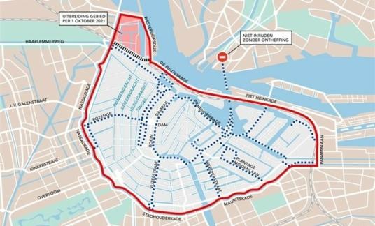 Amsterdam – 7.5 ton-zone