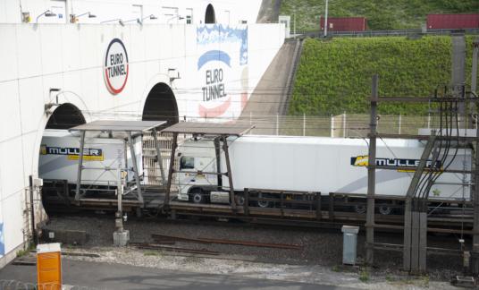 Müller – Eurotunnel – Brexit – trein