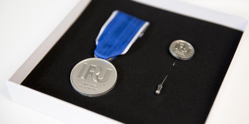 IRU diploma of honour 2021