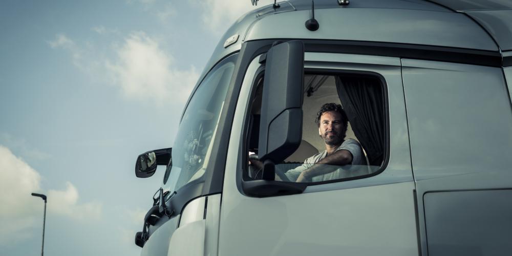 Truck chauffeur