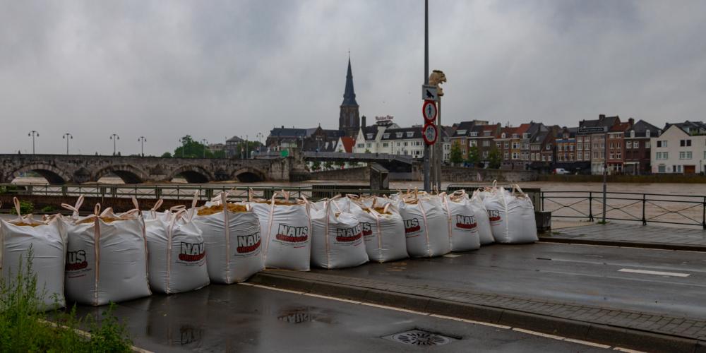 Overstroming Limburg