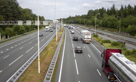 Snelweg A28 – Amersfoort – Leusden – Tanktransport