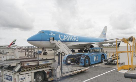 KLM Cargo aircraft